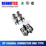 connecteur femelle du support droit BNC de carte de récipient de 28.6mm
