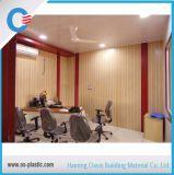 Panneau de mur ignifuge de PVC de cannelure d'impression de plafond normal de PVC