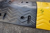 1000mmのゴム製道の減速バンプ