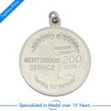 Médaille personnalisée de passage de marathon de souvenir de sport de l'école 3D