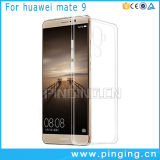 Caja ultra fina transparente del claro TPU para el compañero 9 de Huawei