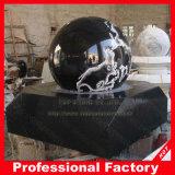 Fontana della sfera del granito della fontana della sfera della pietra della fontana della sfera di rotolamento