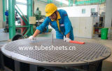 Custom Titanium Alloy Gr2 Steel, Tube Sheets Cladded-Plate Manufacture