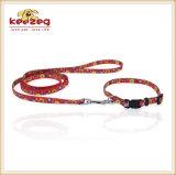 Поводки Collars& кота собаки печатание перехода качества Nylon (KC0100)