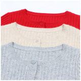 Phoebeeの100%年のカシミヤ織は女の子のための方法編むか、または編まれた衣服をからかう