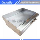 ケイタリング装置、半分溝がある電気Hotplateのグリドル(DPL-550-2)
