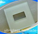 カラー印刷されたスイッチパネルガラス