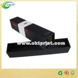 Изготовленный на заказ Corrugated коробка подарка вина с штемпелевать фольги (CKT-CB-732)