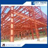 Do metal móvel do projeto da construção do terremoto oficina industrial pré-fabricada prova da construção de aço