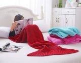 方法魚毛布の人魚のテール毛布毛布の人魚