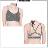 High Quality Women Dri Fit Custom Fabric Sports Bra