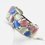Señora magnética Turquoise Stone Bracelet Jewelry del acero inoxidable de Inox
