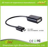 Câble adaptateur micro USB USB de 10 cm à micro