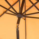 Draperie élégante chaude 9-PI. Parapluie extérieur de patio
