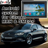 Interface vidéo de navigation GPS pour Citroen C4, C5, C3-Xr (MRN SYSTEM) Mise à niveau Touch Navigation, WiFi, Bt, Mirrorlink, HD 1080P, Google Map, Play Store, Voice