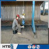 Parede industrial da água da membrana da caldeira do cambista de calor da soldadura