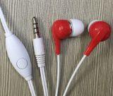 Het beste Verkopende Embleem van de Douane telegrafeerde StereoOortelefoon Earbuds
