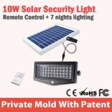 Энергосберегающий водоустойчивый крытый солнечный IP 65 освещения