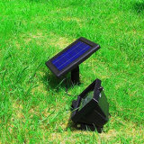 صمّمت 30 [لد] شمسيّ يزوّد [فلوود ليغت] [موأيشن سنسر] مصباح كشّاف خارجيّ حديقة مصباح
