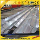 O fabricante 6063 personalizou o revestimento de alumínio do moinho do perfil da extrusão