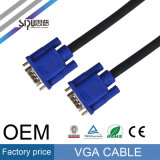 Cabo do áudio do cabo do VGA da alta qualidade 3+2 de Sipu M/M M/F