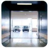 反対のドアが付いている自動車車のエレベーター