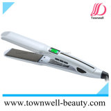Salon Professional Hair Straightener Tourmaline Mch Hair Flat Iron with Wide Plates