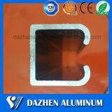 Perfil pesado del aluminio del carril de la pista de la ventana de la puerta de la alta calidad