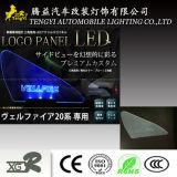 LED Toyota Vellfire를 위한 자동 차 창 빛 로고 위원회 램프