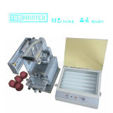 مكتب يدويّة حبر صينيّة كتلة طابعة آلة مع انكشاف آلة