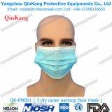 Masque de poussière de Ffp 2/respirateur remplaçables de face diplômées par fourniture médicale
