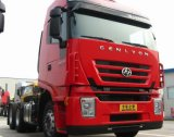 Saic Iveco Hongyan M100 편평하 지붕 트랙터 트럭