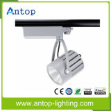 Alta CRI 10-40W Luz de pista barata LED para joyería / tienda de ropa