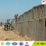 방어적인 벽 또는 Hesco 요새 방벽