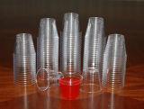 단단한 플라스틱 1oz 셧 잔, 분류된 네온