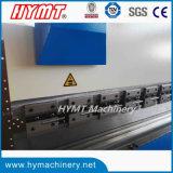 Máquina de dobra de dobramento hidráulica do aço da máquina/carbono da placa WC67Y-100X6000 de aço