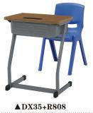 기능적인 플라스틱 학교 가구 책상 및 의자 세트