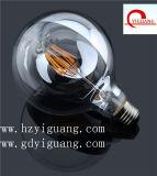 Bulbo amarillo del filamento de la cubierta G80 LED, Ce/RoHS/UL