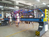 鉄骨構造のためのマルチヘッドストリップ切断機