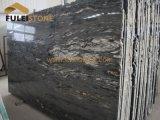 Granito negro de Gloden de la losa de Gangsaw del granito