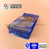 Stehende Imbiss-Nahrungsmittelplastiktasche mit Reißverschluss