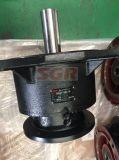 Встроенный вал с моторами винтовой зубчатой передачи фланца
