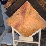 Brame glacée Polished /Tile de marbre d'or avec la qualité