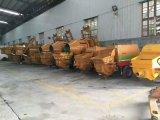 Camion della pompa dell'asta della betoniera