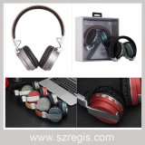 Écouteur stéréo universel sans fil d'écouteurs de Bluetooth avec radio fm