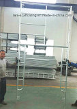 HDG 건축재료를 위한 강철 H 프레임 비계
