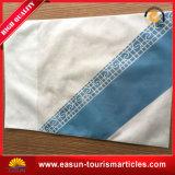 Almofada descartável para caixa de almofada da Airline Estofada de seda personalizada