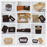 Cesta de papel Crafted da HOME da corda (zstk-b011)