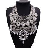 형식 가득 차있는 모조 다이아몬드 다이아몬드 수정같은 디자이너 과장된 계산서 숨막히게 하는 것 목걸이 보석