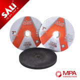 Singolo disco abrasivo di alluminio di taglio dell'acciaio inossidabile di T41 115X1.2X22.2mm